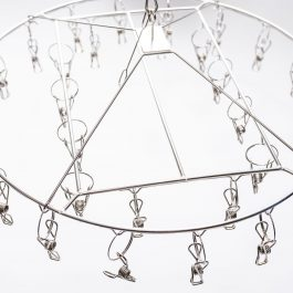 stainless steel clothes hanger
