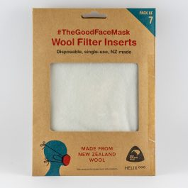 wool filter inserts for masks