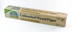unbleached waxed paper