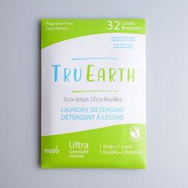 TruEarth eco laundry strips – fragrance free